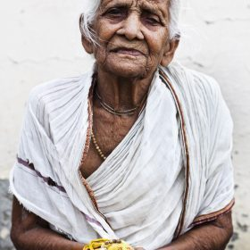 Portraits Widows Ma Dham Ashram Vrindavan
