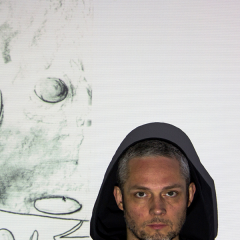 Tim van Hamel Portrait auf Albumcover