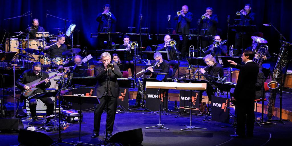 WDR Big Band beim Auftritt